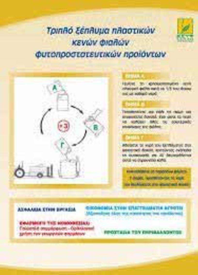 Συλλογή κενών   συσκευασιών   φυτοφαρμάκων   από τον Δήμο Βέροιας