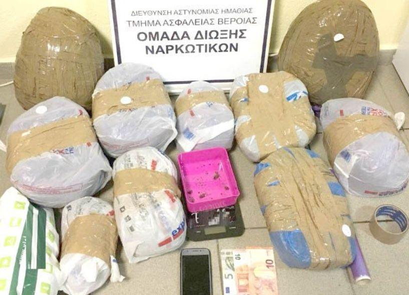 Αστυνομικές επιχειρήσεις σε Πέλλα   και Θεσσαλονίκη για ναρκωτικά
