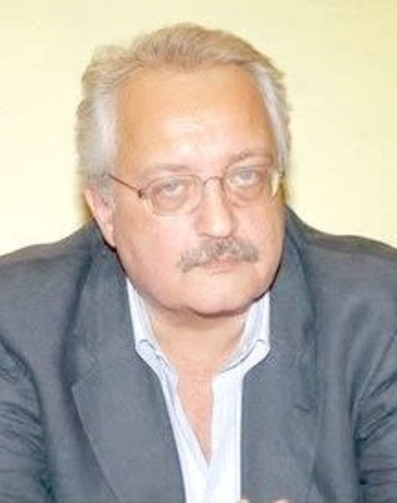 Ο ευρωβουλευτής του ΚΚΕ Σωτήρης Ζαριανόπουλος σήμερα στην Ημαθία