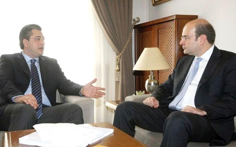 Με τον Αντιπρόεδρο της Ν. Δ. Κωστή Χατζηδάκη   θα συναντηθεί σήμερα ο Απόστολος Τζιτζικώστας