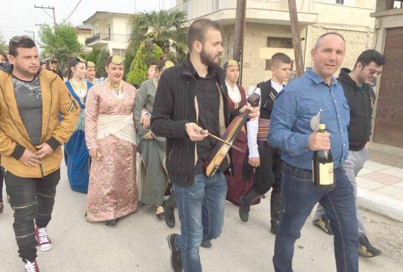 Αναβίωση του Ταφικού Εθίμου από την Εύξεινο Λέσχη Χαρίεσσας