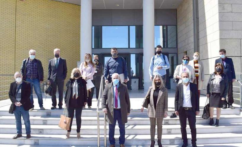 Συμβολική κινητοποίηση του Δικηγορικού Συλλόγου Βέροιας