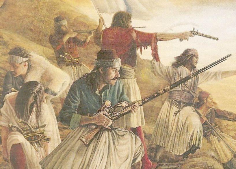 1821 – 2021, 200 ΧΡΟΝΙΑ ΑΠΟ ΤΗΝ ΕΛΛΗΝΙΚΗ ΕΠΑΝΑΣΤΑΣΗ Το ΡΟΥΜΛΟΥΚΙ κατά την επανάσταση - Η ΕΠΑΝΑΣΤΑΣΗ ΤΗΣ ΝΑΟΥΣΑΣ