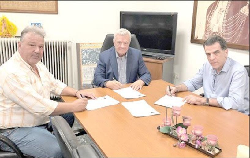 Υπογράφηκε η σύμβαση για κατασκευή αποχετευτικού δικτύου στη Μελίκη