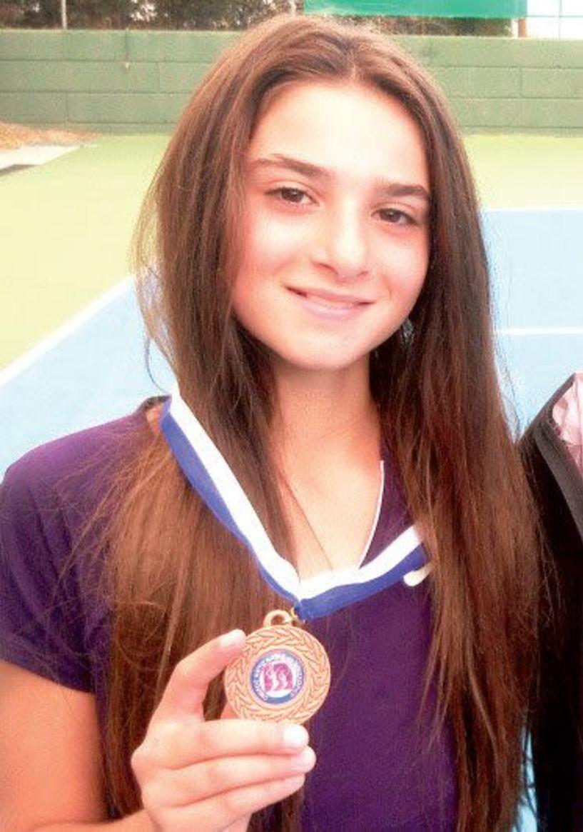 Μετάλλιο και πάλι στα 14αρια η Κάτια Πατσίκα