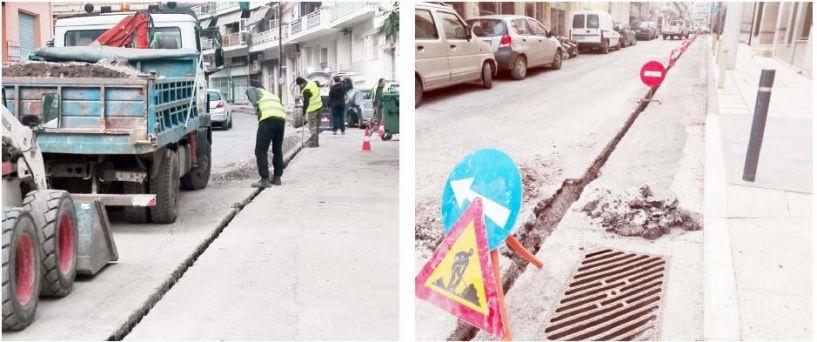 Προσοχή, εργασίες σε κεντρικούς δρόμους της Βέροιας