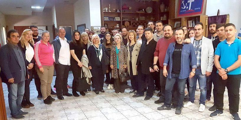 Γεωργία Μπατσαρά: Θα   ασχοληθούμε σοβαρά για την   στέγαση πολιτιστικών συλλόγων
