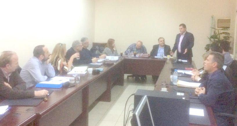 Σύσκεψη για την   στοχοθεσία των υπηρεσιών   και το νέο καθεστώς   αδειοδότησης των επιχειρήσεων