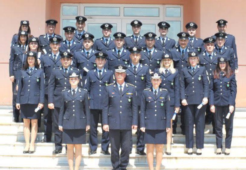 Πιστοποιητικά σπουδών σε 55 Αστυνομικούς της Βόρειας Ελλάδος από τη Σχολή Μετεκπαίδευσης Βέροιας