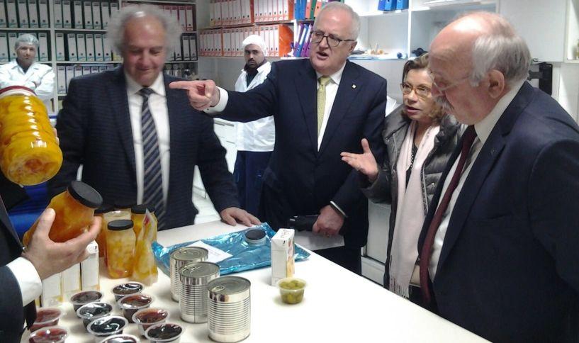 Τις εγκαταστάσεις  της Venus στη Βέροια επισκέφθηκε ο  πρόεδρος της  Τράπεζας Πειραιώς