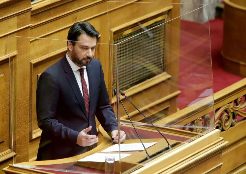 Στη Βουλή το ζήτημα του μεγάλου αρδευτικού έργου «Βεργίνας-Αιγινίου» φέρνει ο Τάσος Μπαρτζώκας