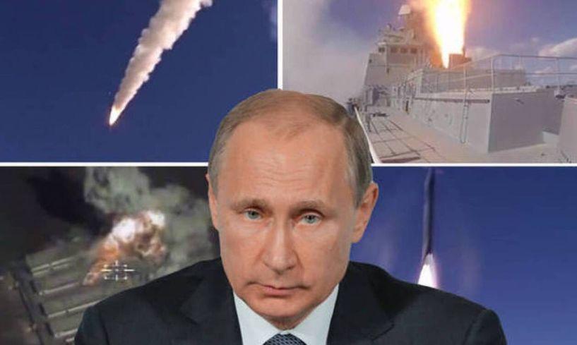 Ο Πούτιν απειλεί τις ΗΠΑ: Θα σας συντρίψουμε...