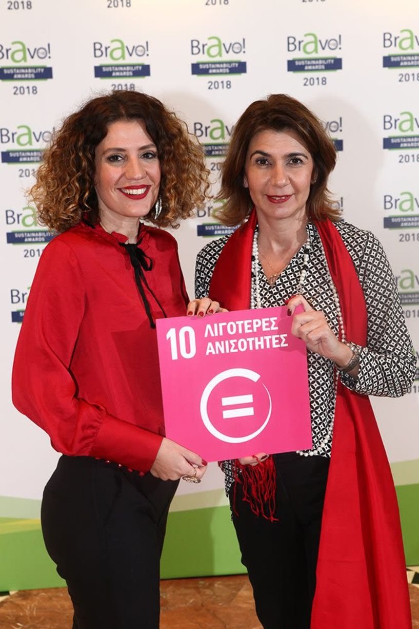 Διάκριση του Ιδρύματος Vodafone στα Bravo Sustainability Awards 2018