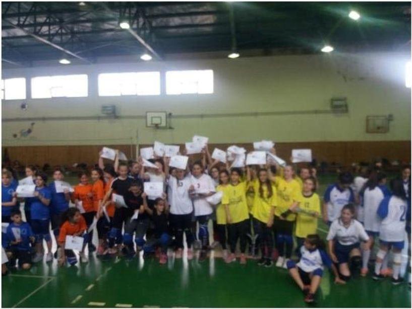 Με επιτυχία έγιναν οι Σχολικοί αγώνες βόλεϊ  στην Βέροια