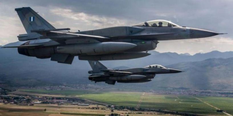 Βέροια:Ζεύγος F16 πριν λίγο πέταξε πάνω από την πόλη