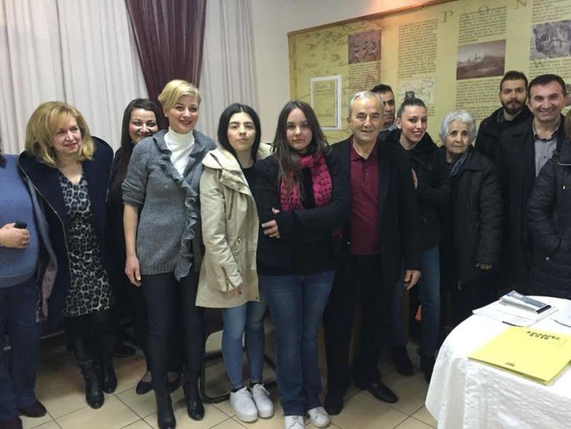 Το νέο δ.σ. στην Εύξεινο Λέσχη Χαρίεσσας