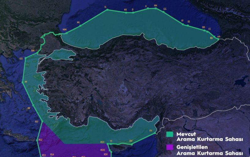 Η Τουρκία με νέο χάρτη διεκδικεί το μισό Αιγαίο! - ΥΠΕΞ: Βάζουν σε κίνδυνο ανθρώπινες ζωές