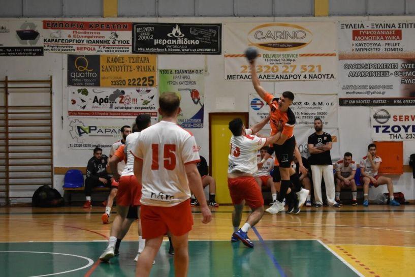 Hanball premier Πρώτη νίκη για Ζαφειράκη Νάουσας 21-28 τον Φαίακα στην Κέρκυρα